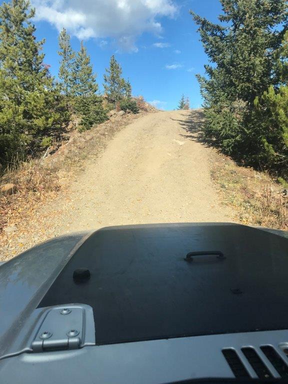 12 Christie Falls trail